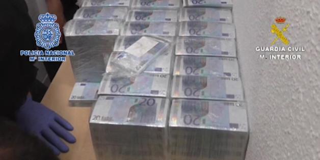 Quatre Marocains impliqués dans le plus grand réseau de falsification d'argent en Espagne