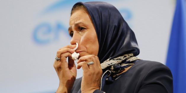 Latifa Ibn Ziaten le 19 novembre 2015 à Paris. REUTERS/Jacques Brinon/Pool