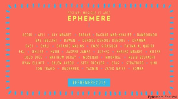 ephemere line up