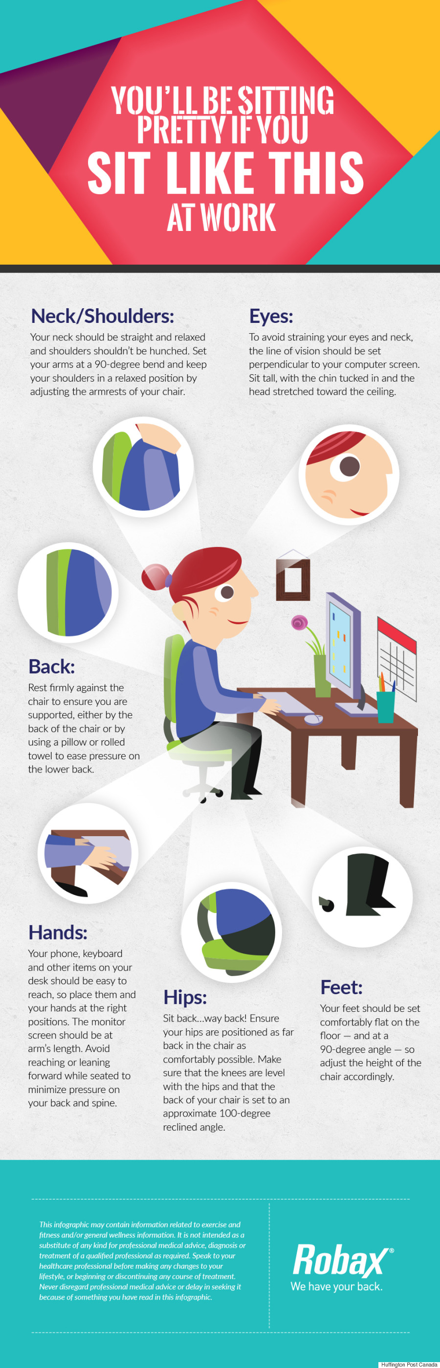 robax sitting infographic