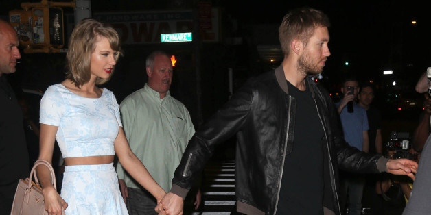 Photo by: KGC-146/STAR MAX/IPx 5/26/15 Taylor Swift and Calvin Harris are seen in New York City. (NYC)