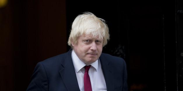 Der neue britische Außenminister Boris Johnson