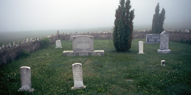 Fog Over Cemetery