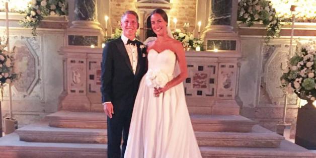 Alle Details zur Traumhochzeit von Bastian Schweinsteiger und Ana Ivanovic