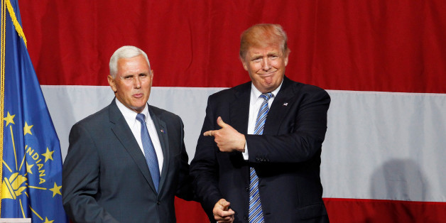 Trump will mit Pence ins Weiße Haus