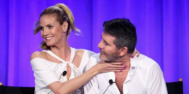 """Simon Cowell wirft Heidi Klum vor, ihre Models zu """"ruinieren"""""""