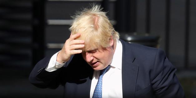 Johnson wurde bei seiner ersten Rede als Außenminister ausgebuht.