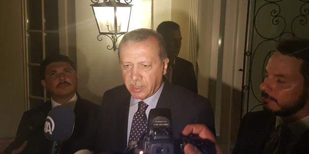 Medienberichte - Erdogan auf dem Weg nach Deutschland