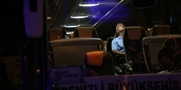 DENIZLI, TURKEY - JULY 17: Denizli Military Garrison and 11. Ranger Brigade General, Kamil Ozhan Ozbakir is arrested together with 51 high-ranking officers following failed military coup attempt, in Denizli, Turkey on July 17, 2016.    (Photo by Mustafa Dermencioglu/Anadolu Agency/Getty Images)