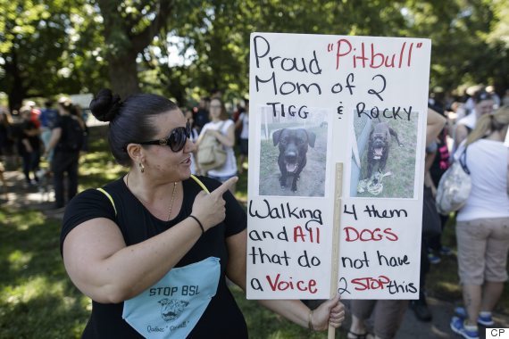 montreal pit bull ban march