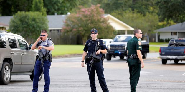 Schießerei in US-Bundesstaat Louisiana: Drei Polizisten in Lebensgefahr