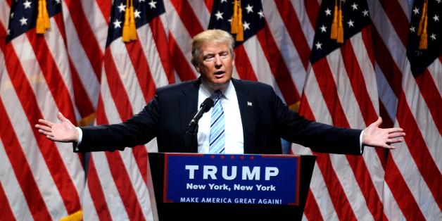 Der US-Präsidentschaftskandidat Donald Trump
