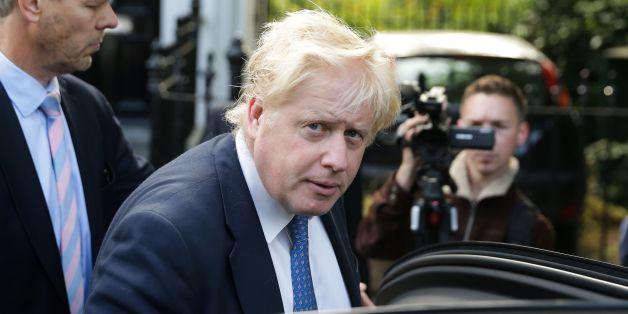 Boris Johnson hat sein erstes EU-Treffen - und das begann mit Problemen