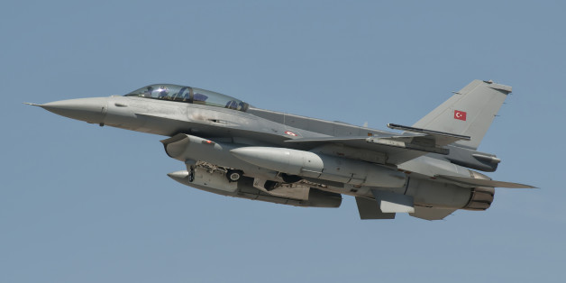 Turkish Air Force F-16 during Exercise Anatolian Eagle in Spain.