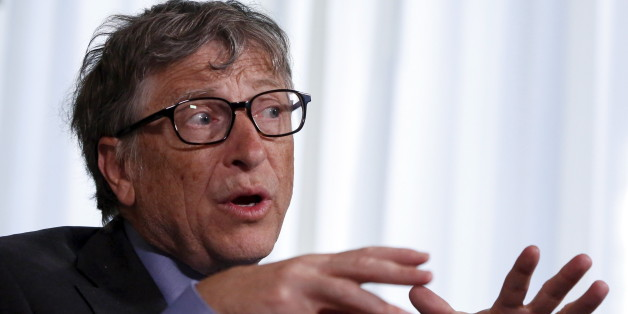 Microsoft Corp co-founder Bill Gates speaks during an interview in New York February 22, 2016. The Bill and Melinda Gates Foundation has turned its attention to the Zika virus outbreak, and its founders said the response to the crisis, which may be linked to devastating birth defects in South America, has been better than for the 2014 Ebola outbreak in Africa. REUTERS/Shannon Stapleton