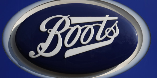 A company logo is pictured outside a branch of Boots the chemists in Manchester northern England, March 17, 2016. REUTERS/Phil Noble
