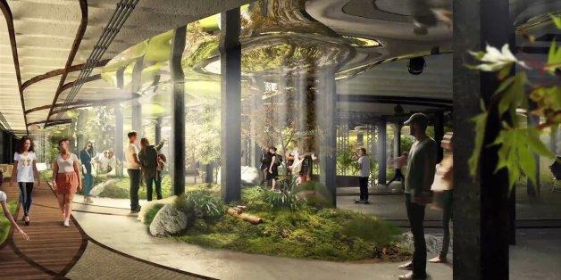 Die Lowline soll der erste Untergrund-Park der Welt werden