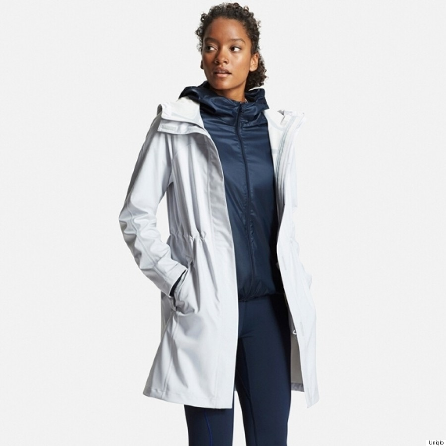 5bcbcfb4e15a8 Uniqlo Unveils New Waterproof Raincoat Jacket With Built-In ...