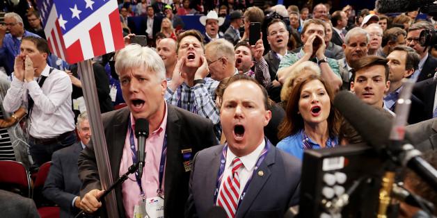 Les délégués anti-Trump ont bien semé la pagaille à la convention de Cleveland
