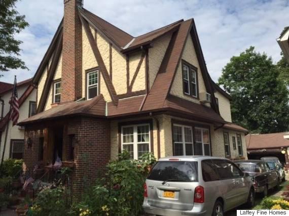 donald trump childhood home