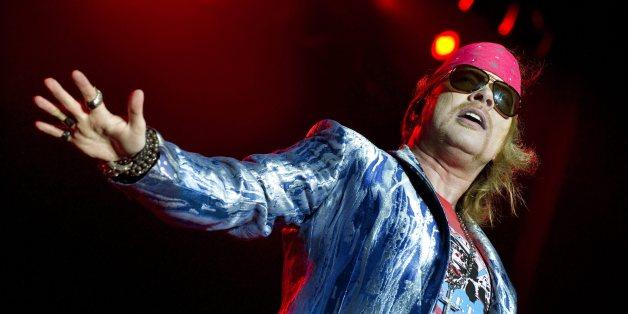 Axl Rose und Guns N' Roses wurden mit Waffen im Tourbus gestoppt