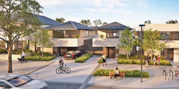 In Melbourne soll ein ökologisch nachhaltiges, energiesparendes Viertel entstehen