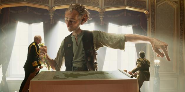 """Bei den Kinostarts am 21. Juli ist auch Spielbergs Disney-Film """"Big Friendly Giant"""" dabei"""