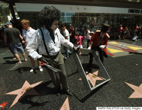 donald trump walk of fame