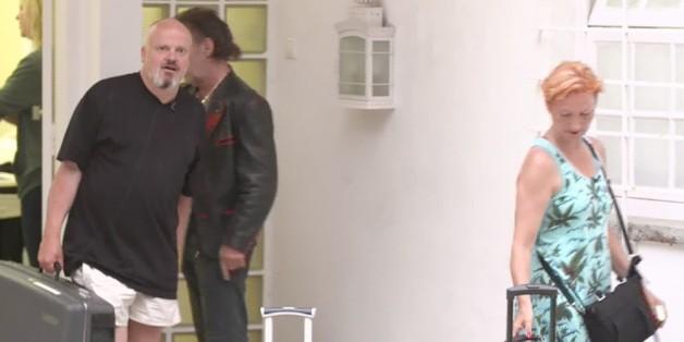 Hubert Kah und seine Liebste Ilona Magyar haben das RTL-Sommerhaus verlassen