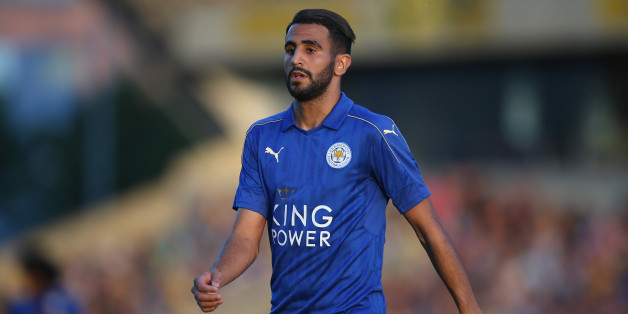 OXFORD, ENGLAND - JULY 19: Riyad Mahrez of Leicester City during the pre-season friendly between Oxford City and Leicester City at Kassam Stadium on July 19, 2016 in Oxford, England. (Photo by Steve Bardens/Getty Images)