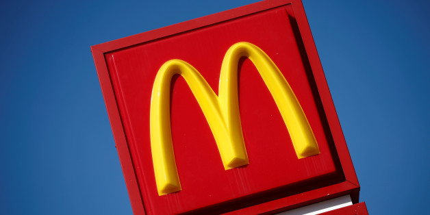 The logo of Dow Jones Industrial Average stock market index listed company McDonald's (MCD) is seen in Los Angeles, California, United States, April 22, 2016. REUTERS/Lucy Nicholson