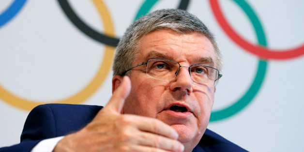 International Olympic Committee (IOC) President Thomas Bach gives a news conference after the Olympic Summit on doping in Lausanne, Switzerland, June 21, 2016.  REUTERS/Denis Balibouse