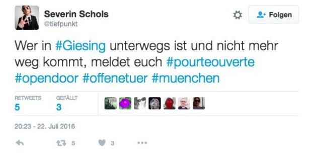 #OpenDoor: Münchner bieten Fremden ihren Schutz an
