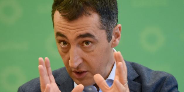 Grünen-Chef Cem Özdemir warnt vor dem türkischen Präsidenten Recep Erdogan