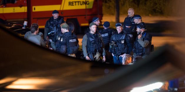 Großeinsatz in München: Die Polizei gingen zunächst von bis zu drei flüchtigen Tätern aus