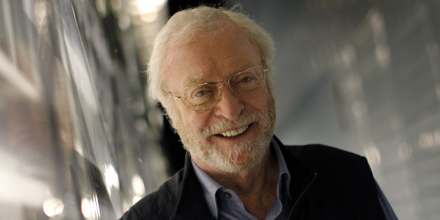 """Actor Michael Caine poses for a photograph during an interview with Reuters in New York, October 26, 2010. Caine's new memoir """"The Elephant To Hollywood"""" is published by Henry Holt and Company.   REUTERS/Mike Segar  (UNITED STATES - Tags: ENTERTAINMENT SOCIETY)"""