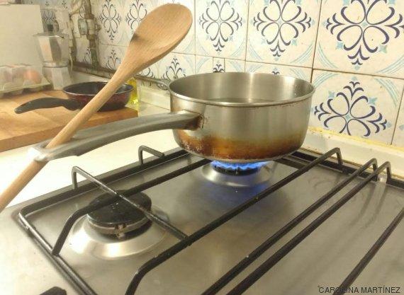 Sabes para qu sirve el agujero que hay en el mango de la - Cocinar en sartenes de ceramica ...