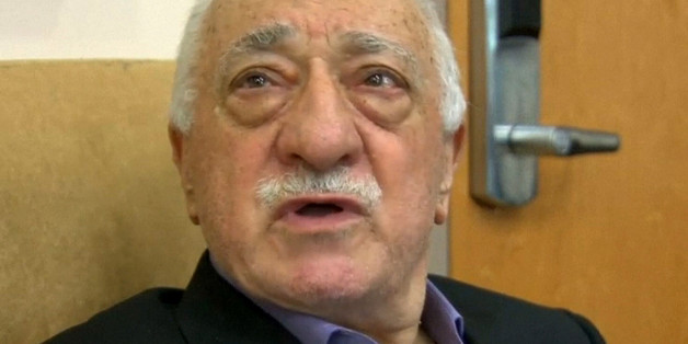 U.S.-based cleric Fethullah Gulen, whose followers Turkey blames for a failed coup, is shown in still image from video, speaks to journalists at his home in Saylorsburg, Pennsylvania July 16, 2016. Gulen said democracy cannot be achieved through military action.  REUTERS/Greg Savoy/Reuters TV