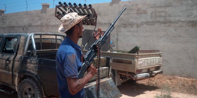 Kampf gegen den IS im lybischen Sirte