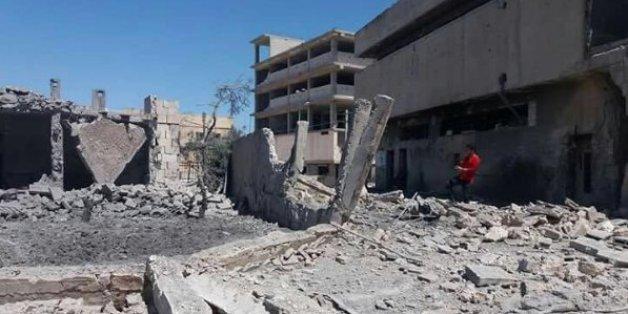 En avril 2016, l'hôpital Al Quds soutenu par MSF à Alep avait été bombardé
