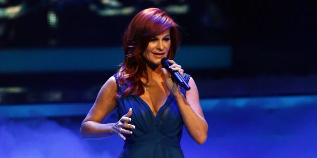 Andrea Berg hat ein Duett mit Xavier Naidoo gesungen - und musste weinen
