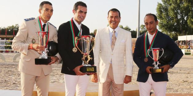 Moulay Rachid remet à Rabat le Grand prix de la Semaine du cheval