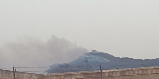 Des migrants responsables de l'incendie de Melilla?