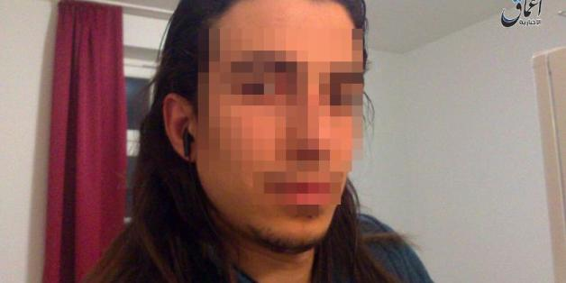 Der Ansbach-Attentäter Mohammad D. schickte dieses Bild von sich an IS-Unterstützer