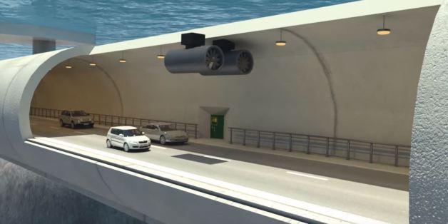Entre le tunnels sous-marin et le pont, la Norvège pourrait expérimenter les tunnels flottants