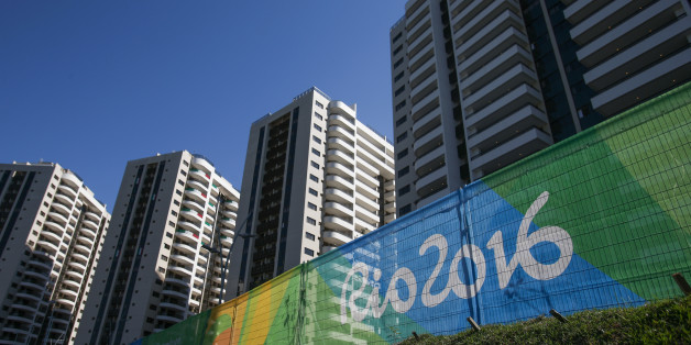 RIO DE JANEIRO, BRAZIL - JULY 24:  A general view of the Olympic and Paralympic Village for the 2016 Rio Olympic Games in Barra da Tijuca. The Village will host up to 17,200 people amongst athletes and team officials during the Games and up to 6,000 during the Paralympic Games on July 24, 2016 in Rio de Janeiro, Brazil.  (Photo by Buda Mendes/Getty Images)
