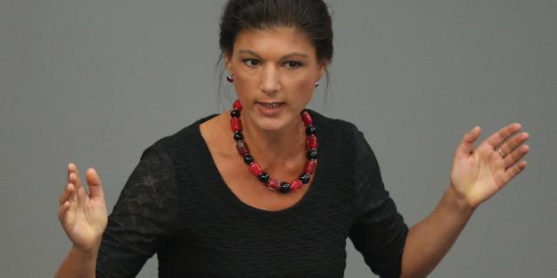 Sahra Wagenknecht steht in der Kritik.