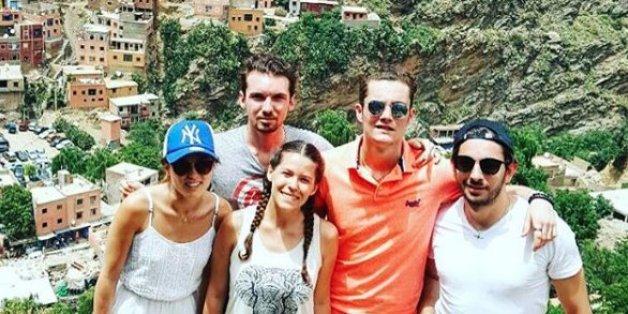 Sarkozy Junior passe ses vacances à Marrakech