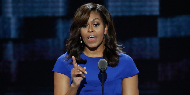 First Lady Michelle Obama teilt gegen Trump aus