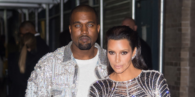 NEW YORK, NY - MAY 02:  Rapper Kanye West (L) and tv personality Kim Kardashian attend 'Manus x Machina: Fashion in an Age of Technology' Costume Institute Gala Balmain after party at Gilded Lily on May 2, 2016 in New York City.  (Photo by Michael Stewart/Getty Images)
